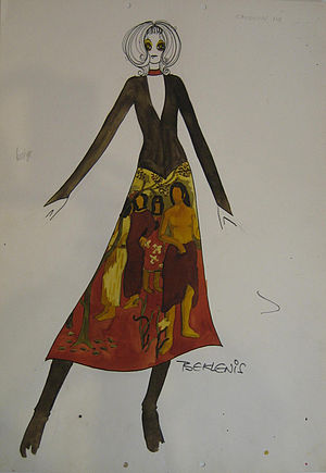 """Yannis Tseklenis - """"Impressionists"""" Collection by Tseklenis, 1971-2. (PFF collection)"""