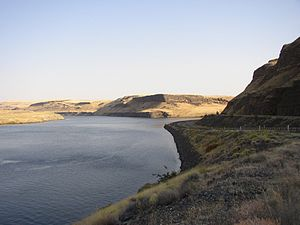 Tucannon River - Confluence of the Tucannon with the Snake River