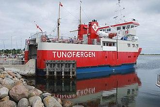 Tunø - Image: Tunøfærgen 2011