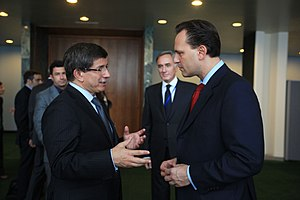 Foreign policy of the Recep Tayyip Erdoğan government - Ahmet Davutoğlu and his Greek counterpart Dimitrios Droutsas