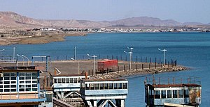 Turkmenbashi International Seaport - Caspian Sea at the Port of Türkmenbaşy
