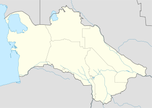 Derweze is located in Turkmenistan