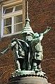 Turmbläserdenkmal in Bremen, Am Dom. IMG 6824WI.jpg