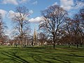Turnham Green with leafless trees in winter - geograph.org.uk - 1188527.jpg