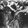 Tyeen Glacier, mountain glacier terminus and hanging glaciers, September 12, 1980 (GLACIERS 5959).jpg