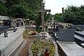 Tyniec parish cemetery, grave of Anna and Jerzy Turowicz, Benedyktyńska street, Tyniec, Krakow, Poland.JPG