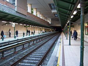 Burggasse-Stadthalle (Vienna U-Bahn) - Image: U6 Burggasse 5