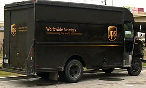A United Parcel Service Van (package car in th...