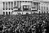 Inhuldiging van Warren G. Harding