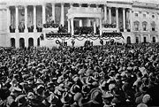 Harding inauguration, 1921.