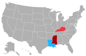 United States elections, 2015 - Image: US Gubernatorial Elections, 2015