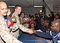US Navy 050131-N-8102J-057 NFL players visited Naval Hospital Jacksonville's patients and the staff.jpg