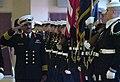 US Navy 060124-N-2383B-054 Commander, Royal Bahrain Navy, Col. Abdullah Al Mansoori conducts a troop inspection.jpg