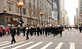 US Navy 111124-N-CD297-037 Sailors assigned to Navy Band Great Lakes perform in the Chicago Thanksgiving Day Parade.jpg