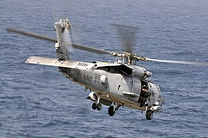 US Navy 120213-N-ZI635-048 An HH-60H Sea Hawk helicopter assigned to Helicopter Anti-Submarine Squadron (HS) 15 launches from the Nimitz-class airc.jpg