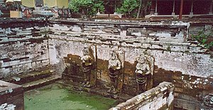 Goa Gajah - Bathing temple