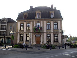 The town hall in Uckange