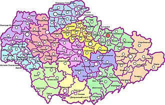 Administrative divisions of Ukraine (1918–1925) - Governorates and counties in 1921.