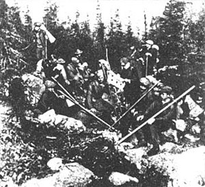 Plast - Plastuny on the mountain Chornohora, 1914