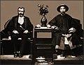 Ulysses S. Grant & Li Hung Chang, Tientsin, China 1879 Attribution Unk RESTORED.jpg