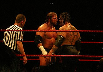 Umaga (wrestler) - Umaga facing Triple H in November 2007
