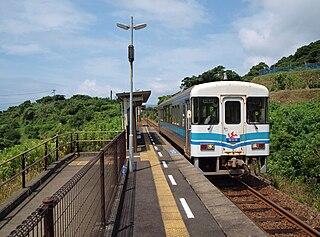 Uminoōmukae Station Railway station in Kuroshio, Kōchi Prefecture, Japan
