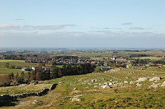 Undheim - View of the village