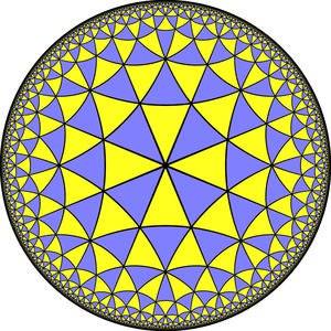 Truncated order-8 triangular tiling - Image: Uniform dual tiling 433 t 012