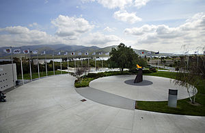Chula Vista, California - Olympic Training Center, Lower Otay Reservoir in the background