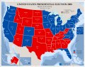 United States presidential election 2008, results by state, November 19, 2008 LOC 2008626951.tif