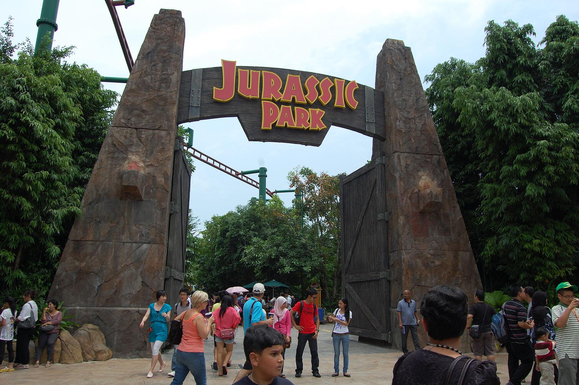 jurassic park franchise wikipedia