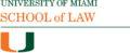 University of Miami Law logo.png