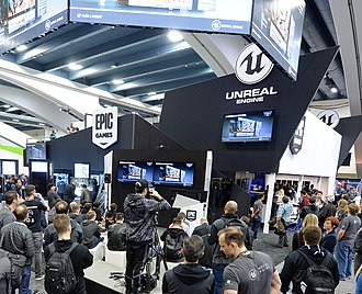 Unreal Engine - An Unreal Engine booth at GDC 2017
