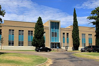 Upton County, Texas - Image: Upton county tx courthouse 2014