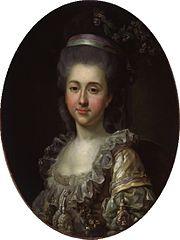 Portrait of Urszula Mniszech (1750-1808)