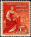 Uruguay 1910 1p stamp.jpg