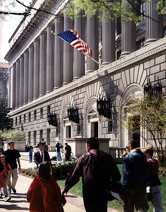 Commerce Department trade mission controversy - U.S. Department of Commerce building in Washington, D.C.