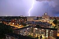 Utrecht-Oost tijdens onweer vanaf IBB-flat.JPG