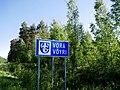 Vöyri municipal border sign.jpg