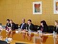 V.Dombrovskis Japānā tiekas ar uzņēmuma Panasonic vadību (8636197503).jpg
