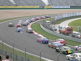 Start van een race op het Shanghai International Circuit