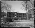 VIEW OF 1946 WING FROM SOUTH - U. S. Military Academy, Building No. 674, West Point, Orange County, NY HABS NY,36-WEPO,1-60-11.tif