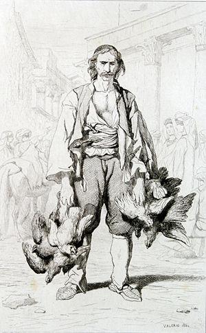 Valerio - Paysan Morlaques des environs de Spalato, 1864