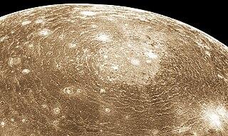 Valhalla (crater) Large multi-ring impact crater on Jupiters moon Callisto