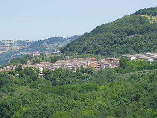 Valle San Giovanni Frazione in Abruzzo, Italy