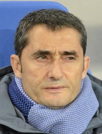 Ernesto Valverde - Valverde managing Athletic Bilbao in 2014