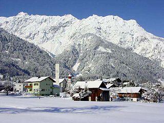 Vandans Place in Vorarlberg, Austria