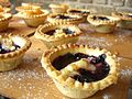Various tarts on a table, 2006.jpg