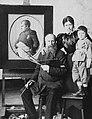 Vaszilij Vasziljevics Verescsagin orosz festőművész. Fortepan 25843.jpg