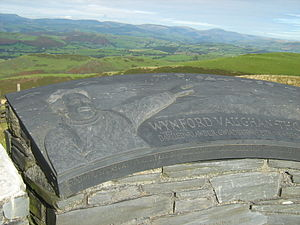 Wynford Vaughan-Thomas - Memorial toposcope, September 2008
